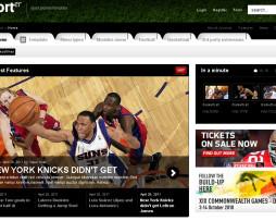 Tema site Joomla para notícias, esportes, magazine esportivo