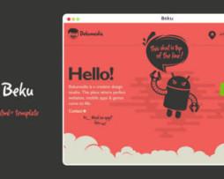 Tema site HTML para site de aplicativos