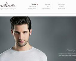 Tema site HTML para site pessoal, portfólio, designers