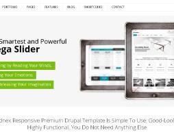 Tema site DRUPAL para empresas e negócios
