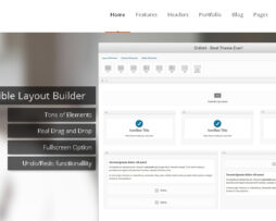 Tema site wordpress para empresas e negócios simples e moderno