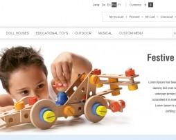 Tema Loja Virtual Magento Para Lojas De Brinquedos