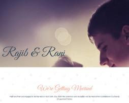 Tema Site Html Para Casamentos, Noivos, Recém Casados