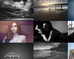 Tema site HTML para fotografos home portfólio
