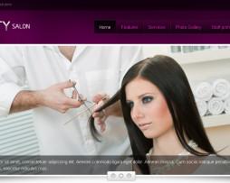 Tema site joomla para Cabeleireiro e Salão de Beleza