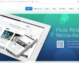 Tema site wordpress para empresas multiuso e clean