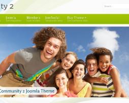 Tema Site Joomla Para Sites De Relacionamentos