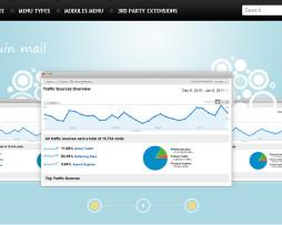 Tema Site Joomla Para Site De E-mail Marketing