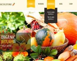 Tema site WordPress para agricultores, mundo verde, produtos naturais c\ e-commerce