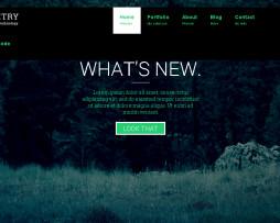 Tema site HTML para portfólio empresarial