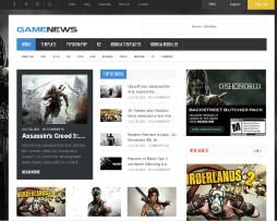 Template Site Joomla Para Noticias E Magazine De Jogos