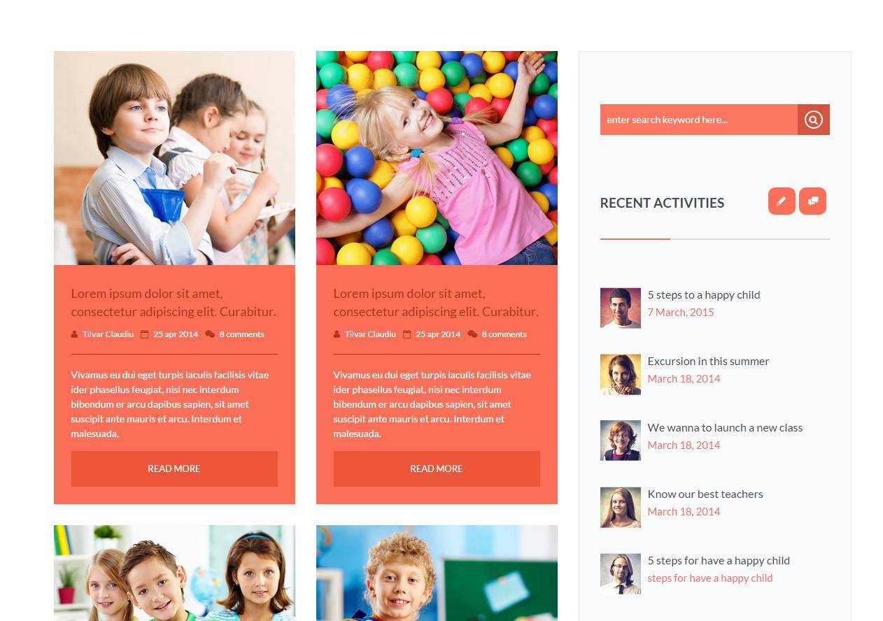fd36850547 Tema site HTML para site de crianças
