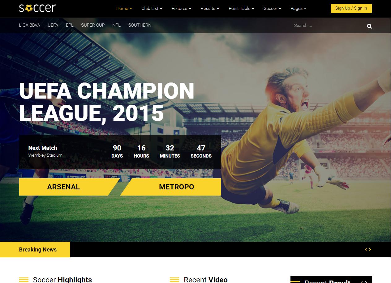 Tema site joomla para futebol 3c87e4a3b5d60