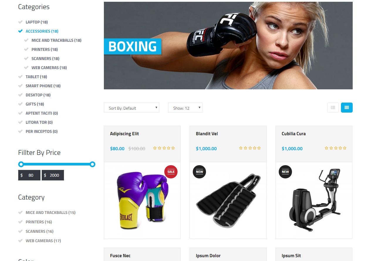 18f29c1fc Tema loja virtual opencart para loja de artigos esportivos e academia.  TEMPLATE OPENCART
