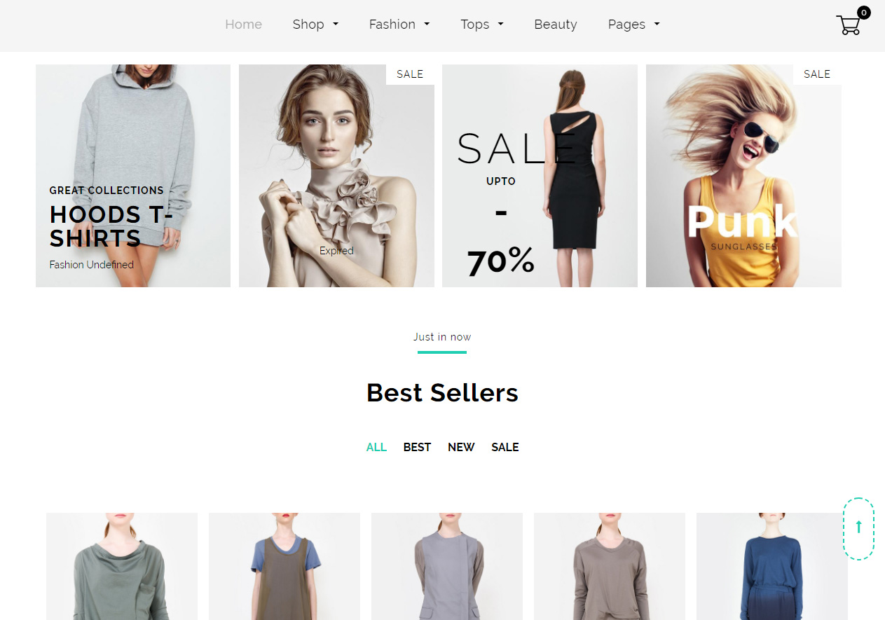 a155a87eb Tema loja virtual shopify para moda, roupas, acessórios, boutiques ...